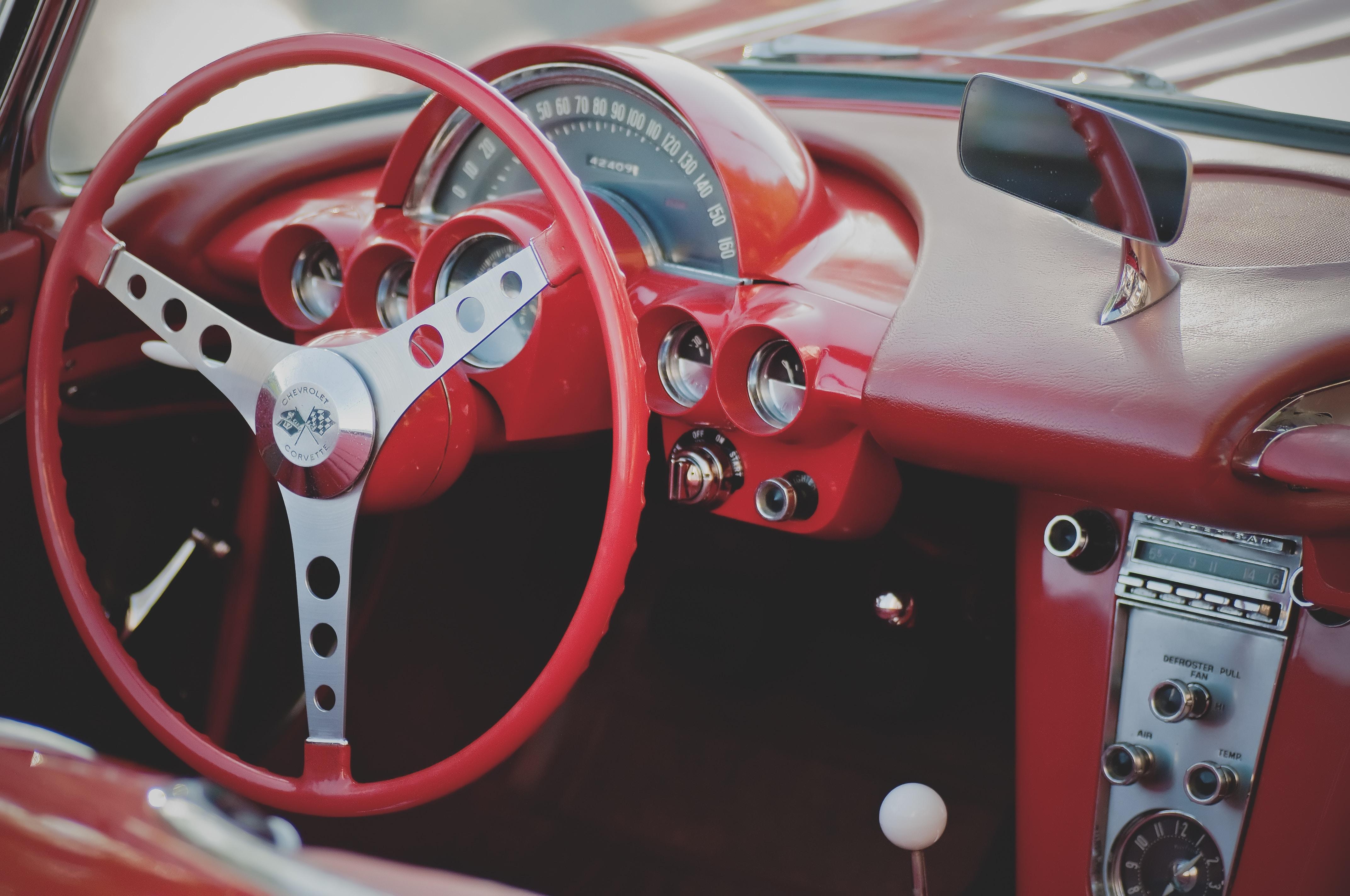 1970 Corvette Innenraum