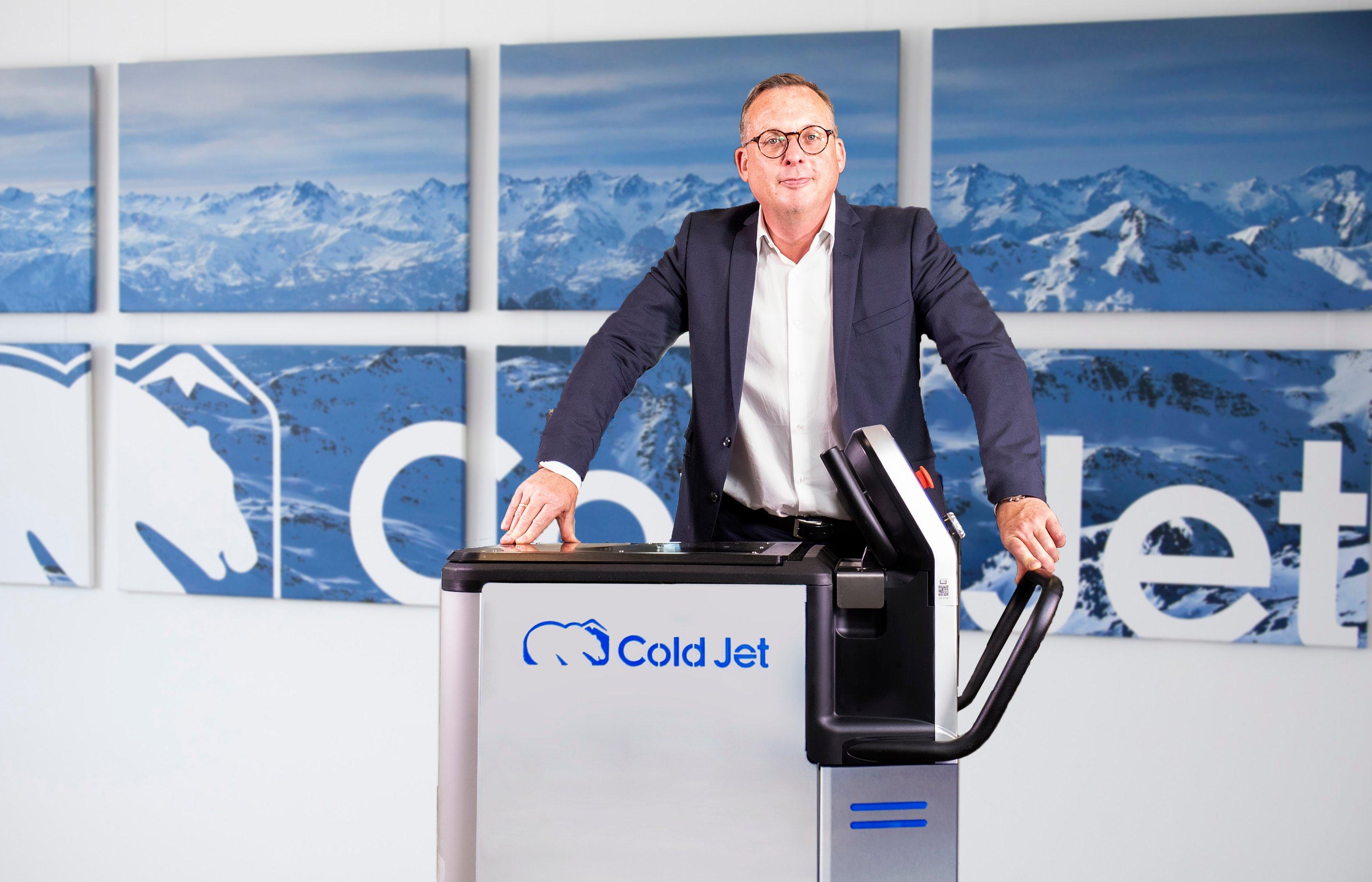 Dietmar Juchmes und PCS 60 von Cold Jet
